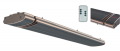 Infrastrip heater with built in remote controller for time and power 1.KW