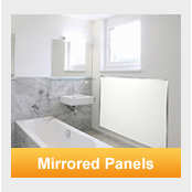 mirrored FAR heating panels