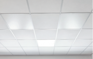 Infrared suspended ceiling panels