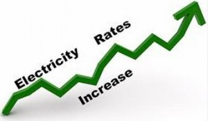 energy rates rise